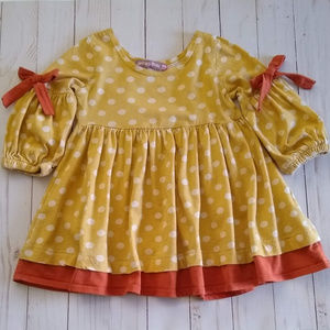 Jelly the Pug Fiona Foxtrot Collection Dress 18M